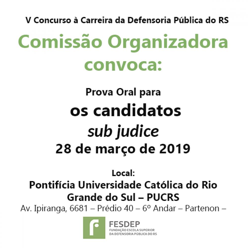2019.03.15 - informacoes V Concurso