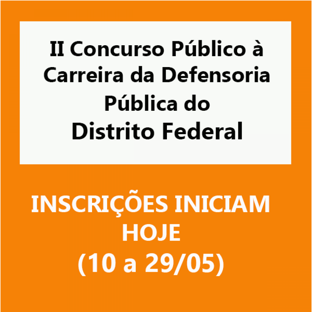 2019.05.10 - concurso Defensoria DF CERTO 1
