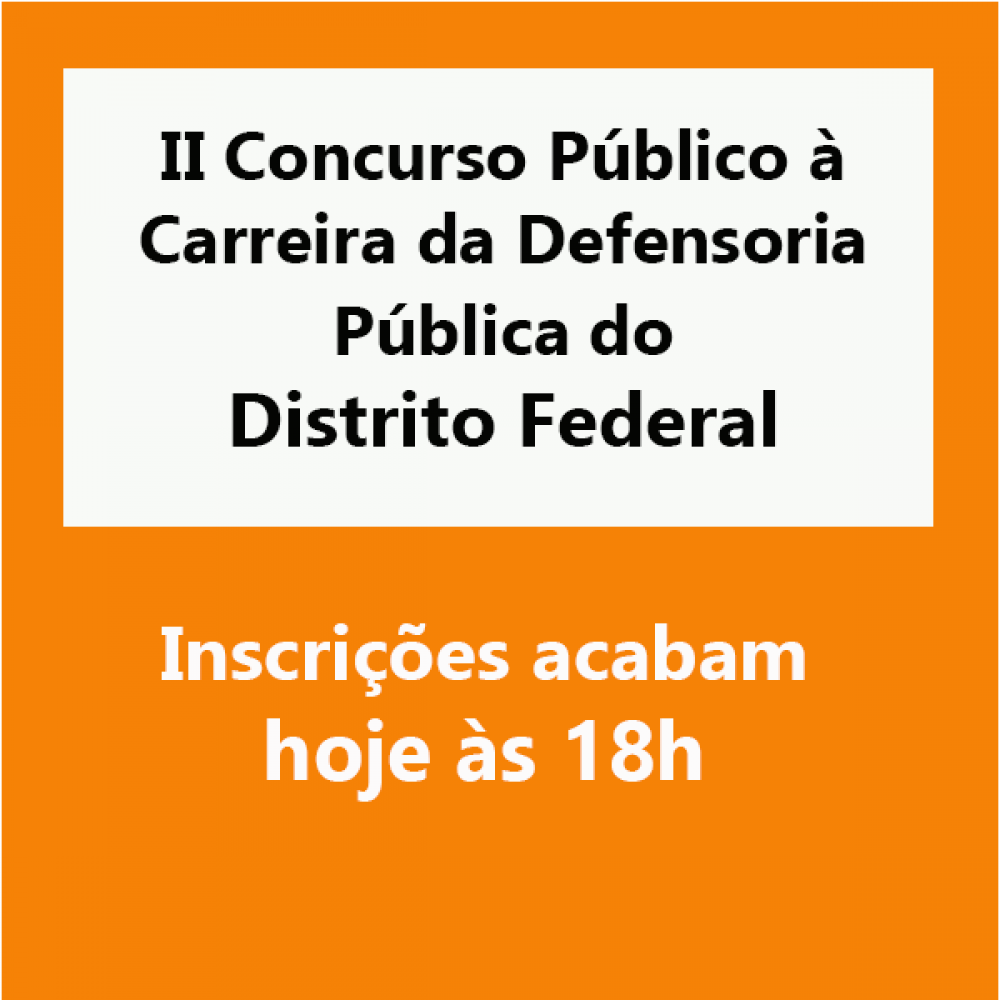 2019.05.29 - concurso Defensoria DF