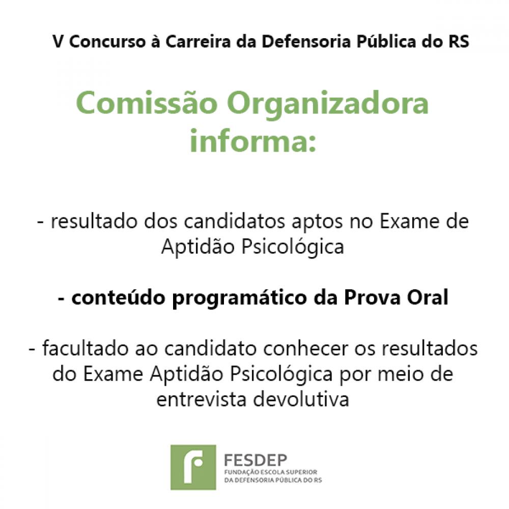 2019.01.29 - informacoes V Concurso